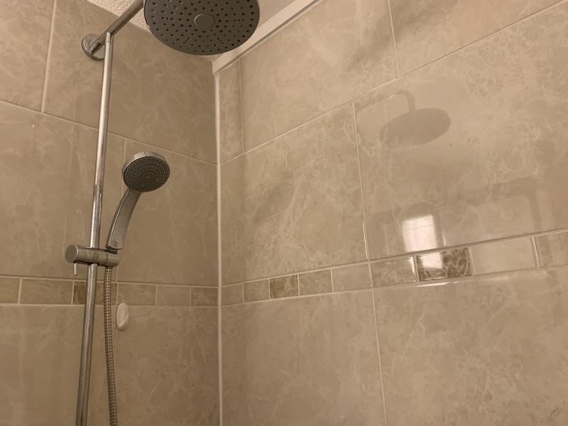イギリスのシャワー